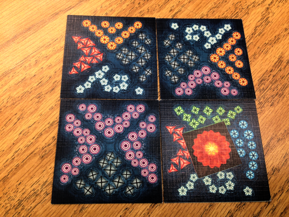 Lake tiles. Prototype components.