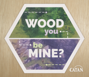 photograph relating to Settlers of Catan Printable named Print and Participate in Valentines in opposition to Catan Studio Theology of Video games