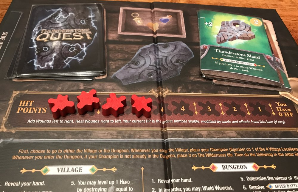 a tribe called a double take review of thunderstone quest