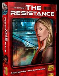 The Resistance - Both Jeremiah and Firestone's very favorite game. This social deduction game finds you trying to suss out the bad guys if you're good, and doom the resistance if you're bad. SO GOOD.