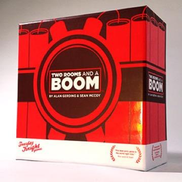 2 Rooms and a Boom! - 2 Rooms is one of my all-time favorite party games. From super casual to super serious gamers this game just works. Easy to learn, and quick to play--grab this one!