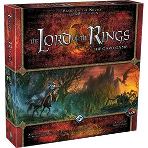 The Lord of the Rings: The Card Game - This is by far my favorite cooperative game and Living Card Game! I don't play it nearly as much as I should but it's a top 5 game of my collection for sure!