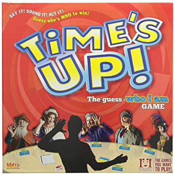 Time's Up! - Time's Up is the best party game there is. I've had more laughs with this game than every other one combined.