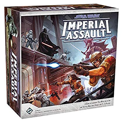 Imperial Assault - Dungeon Crawling in the StarWars universe may be the best theme/game style combo yet. Loads of fun, creative story lines, simple gameplay and tons of replay ability