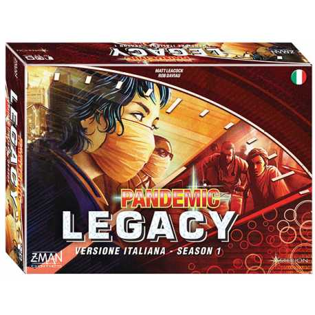 Pandemic: Legacy - The epitome of legacy games. My experience of playing this is one of my favorite gaming memories ever. I couldn't wait to see what happened next.