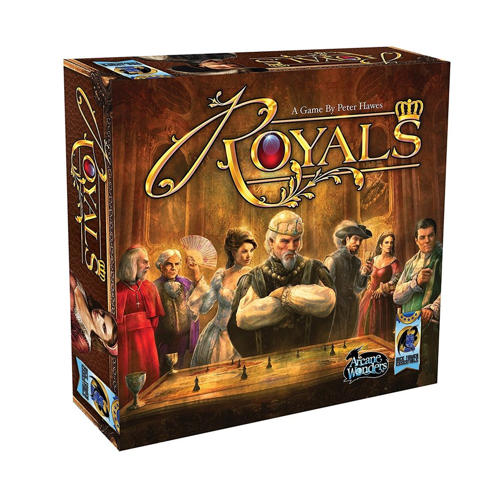 Royals - A must have in any collection. This game makes set collection fun again.