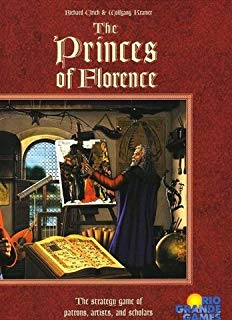 The Princes of Florence - This auction game is a oldie but a goodie.  There's no better 5-player experience I can think of.