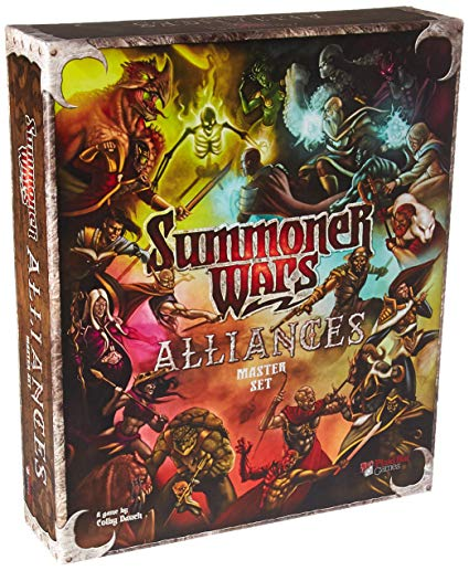 Summoner Wars - Excellent 1v1 game. I love that no two decks are the same and the strategy to victory will change every time. My favorite two player game all the way!