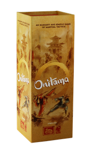 Onitama - This little gem is one of the best 2-player games we've ever played. It's elegant. Simple. Deep. And anyone can play it.