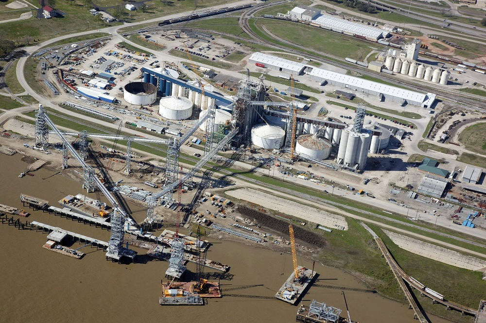 2013 Grain Elevator Aerial