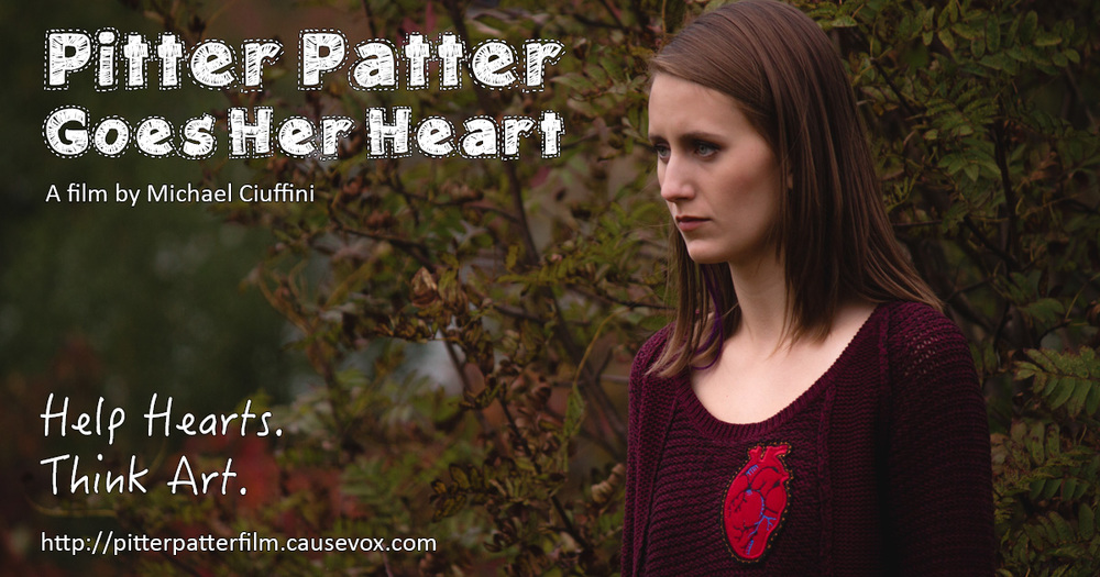 #HelpHeartThinkArt #HeartMonth #CreateSurvivors #PitterPatterFilm