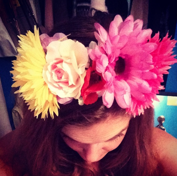 My handmade headband