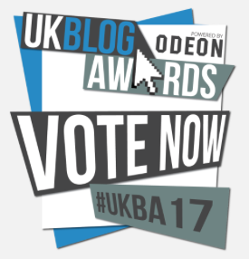 UK Blog Awards 2017 - Nominee