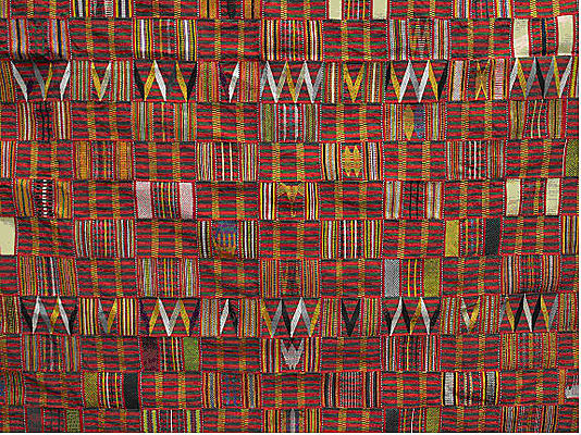 Kente Cloth - Source:  Metropolitan Museum