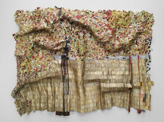 El Anatsui, Black River, 2009. Source:  Museum of Fine Arts, Boston