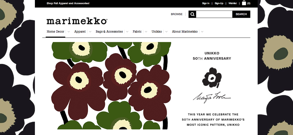 Source:  Marimekko website .
