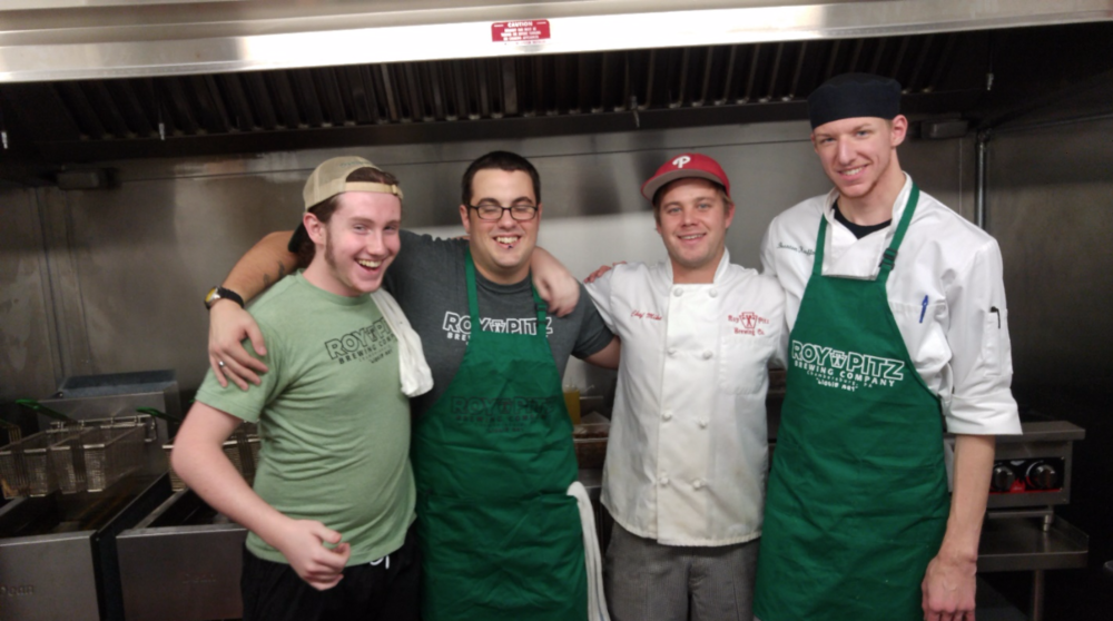 Chef Sock and his culinary crew.