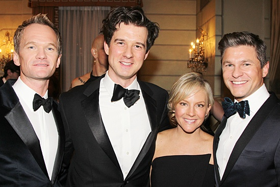 Neil Patrick Harris, Christian Hebel, Rachael Harris & David Burtka