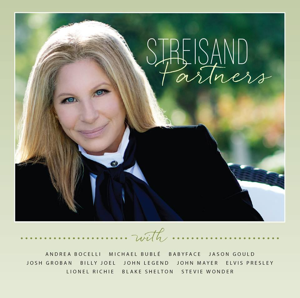 "Columbia Records has announced the upcoming release of Barbra Streisand's ""Partners"" album, to debut on September 16th, 2014, featuring 12 inimitable new Streisand duets with the world's greatest male vocalists.    Barbra took to Instagram on August 11th to announce to the world the official September 16th release date for ""Partners."" All those who pre-order the album will receive a new downloadable song ""New York State Of Mind,"" with Billy Joel. The Lionel Richie duet of the classic ""The Way We Were"" will be also be made available to pre-ordering fans on August 26. The third Instant Grat track, the Michael Bublé duet ""It Had To Be You,"" - will be downloadable via pre-order on September 2.    The inspired new musical pairings on ""Partners"" include, Andrea Bocelli, Michael Bublé, Kenneth 'Babyface' Edmonds, Jason Gould, Josh Groban, Billy Joel, John Legend, John Mayer, Lionel Richie, Blake Shelton, Stevie Wonder and a breathtaking virtual duet with the King of rock n' roll, Elvis Presley. The new album, which is executive produced by Barbra and Jay Landers, is produced by 'Babyface' and Walter Afanasieff.    Track listing    1. It Had To Be You (w/ Michael Bublé)    2. People (w/ Stevie Wonder)    3. Come Rain Or Come Shine (w/ John Mayer)    4. Evergreen (w/ Babyface)    5. New York State Of Mind (w/ Billy Joel)    6. I'd Want It To Be You (w/ Blake Shelton)    7. The Way We Were (w/ Lionel Richie)    8. I Still Can See Your Face (w/ Andrea Bocelli)    9. How Deep Is The Ocean (w/ Jason Gould)    10. What Kind Of Fool (w/ John Legend)    11. Somewhere (w/ Josh Groban)    12. Love Me Tender (w/ Elvis Presley)"
