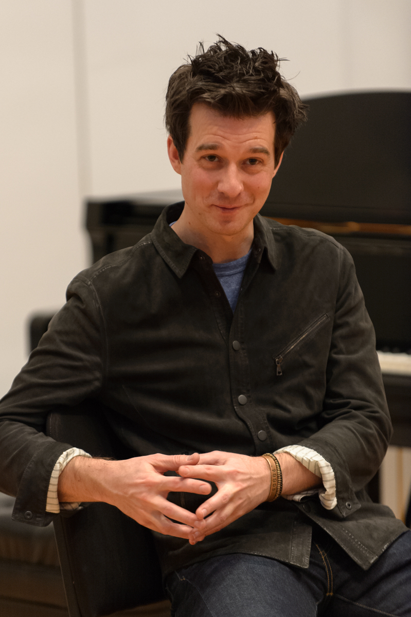 Christian Hebel at YoungArts MasterClass Miami, FL January 9, 2015. Photo by Jason Koerner