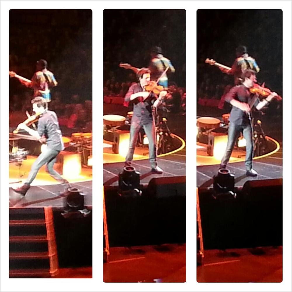 October 4. 2013 Performing at Key Arena Seattle, WA In the Round Tour   Photos courtesy of Rachel Torell