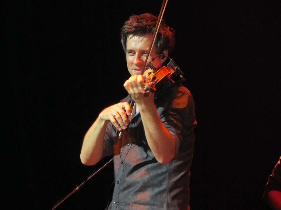 October 18, 2011 Performing with the Straight To You Tour at the Grand Rex Theater Paris, France. Photo courtesy of Jeannie Gregory