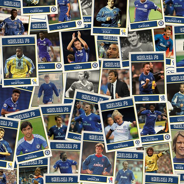 Creative for #chelseafc #annuallunch 2016. Themed around sticker collections, each guest was issued with a packet of stickers and a souvenir brochure doubling as a sticker album! #design