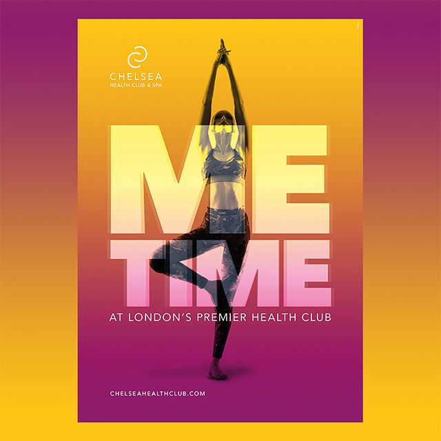 """""""Me Time"""" campaign for Chelsea Health Club 16/17 #design #campaign"""