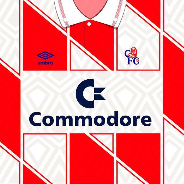 1991-93 #chelseafc @umbroukofficial away kit #footballshirts #footballculture #design