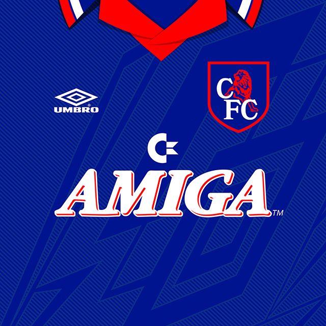 1993-94 #chelseafc  @umbroukofficial home kit #footballshirts #footballculture #design
