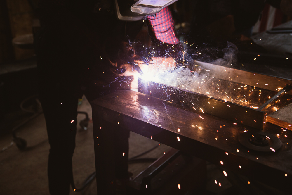 BASICS OF WELDING DAY CAMP: BENCH  - FEBRUARY 18, 2018 at KKDW HQ