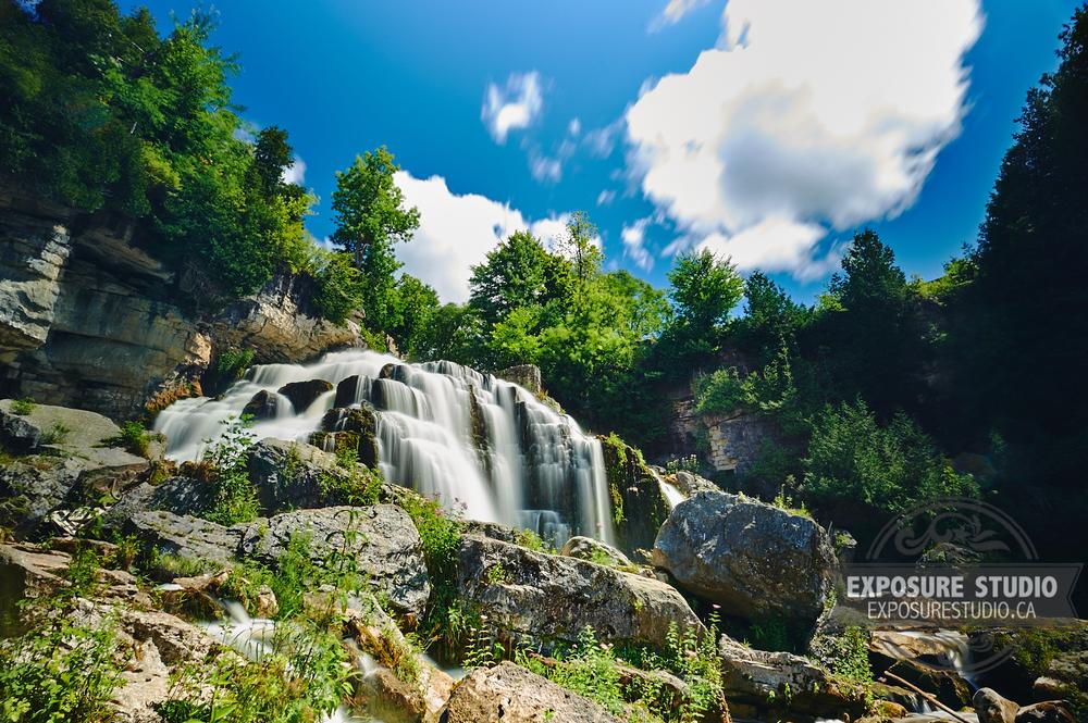 Summer at Inglis Falls
