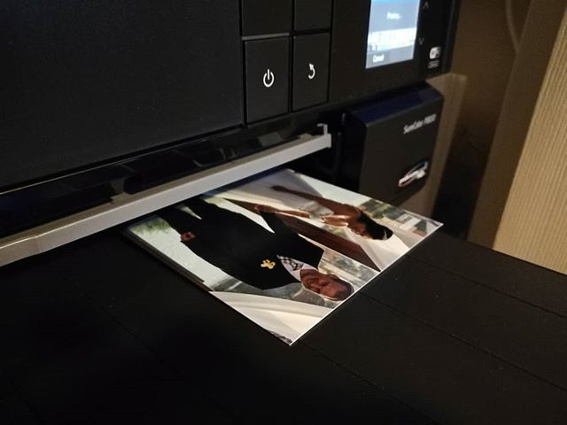 Some days are just spent #printing, #drying and #framing the #photographs for our clients.  Today is one of those many days.  #officedays #exposurestudio #weddingphotographer #print
