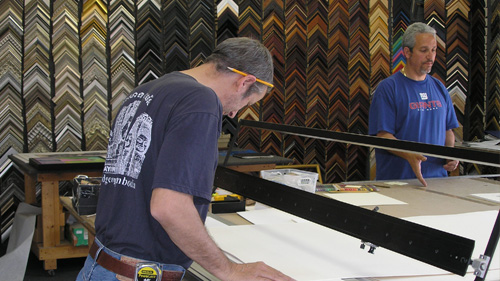 FRAMING We have a larger variety of framing solutions we propose for projects. Our capabilities also include stretching canvases, box or plexiglas mounts, and other creative framing solutions.