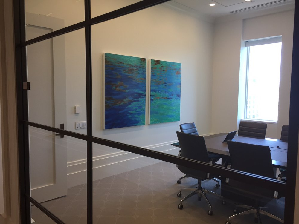 The Law Firm Occupies Multiple Floors In The Building That Underwent  Renovation During The Project. Artists Circle Was Responsible For Managing  The Firmu0027s ...