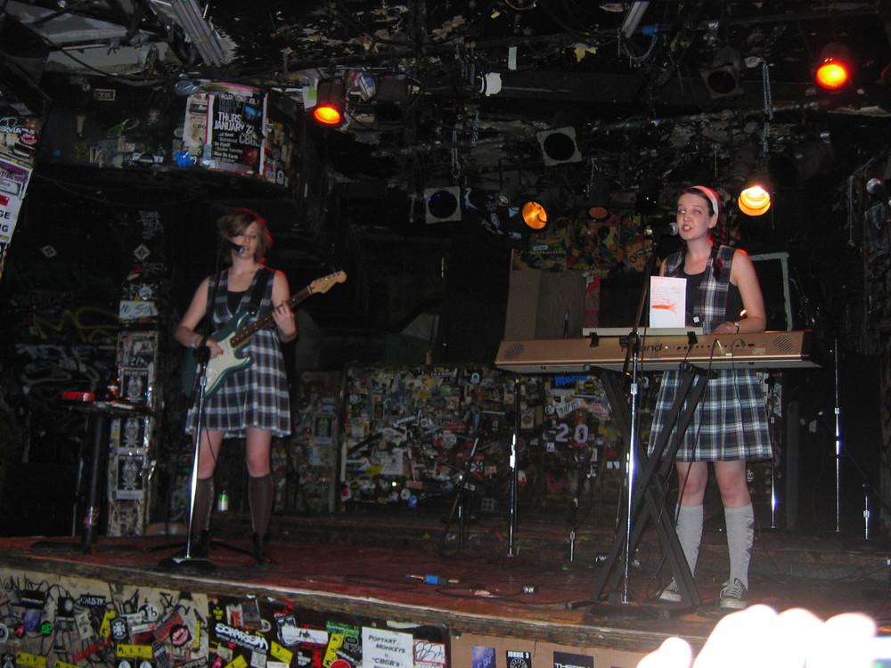 Ladystein at CBGB