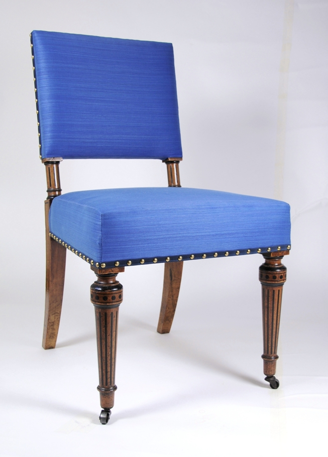 A Rare Single Side Chair Designed By Owen Jones (1809 1874), Made