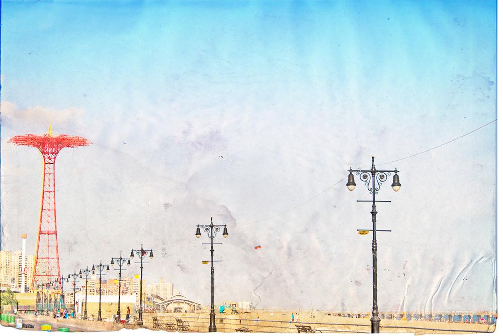 -- Coney Island Parachute Jump --