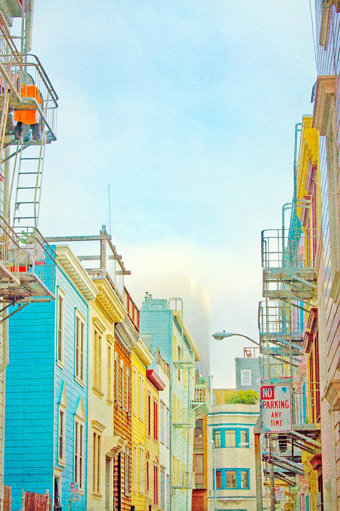 -- Back Alley, San Francisco --
