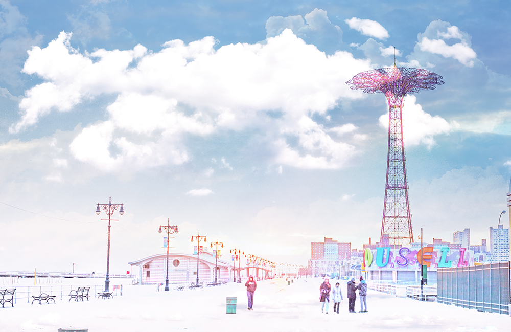 -- Boardwalk Winter --