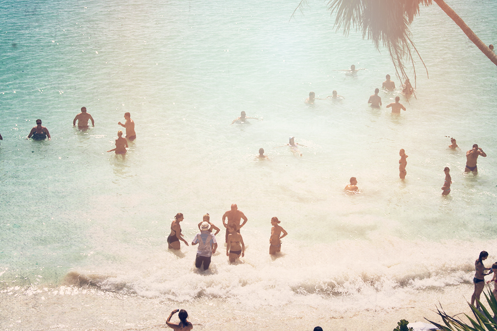 -- Beach People, Mexico --