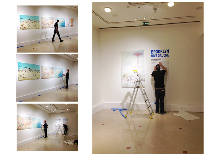 Installing the show