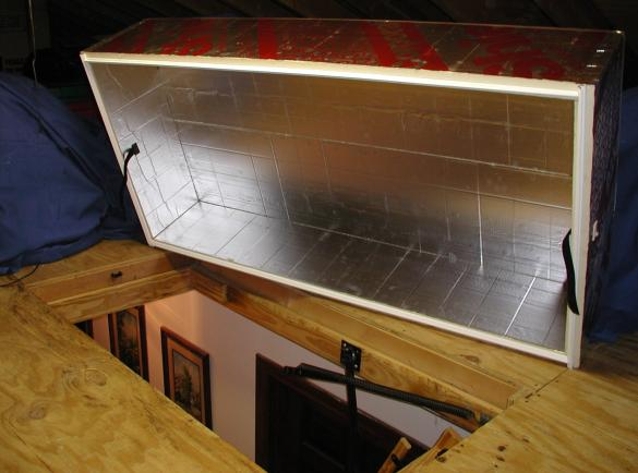 Thermadome.jpg : seal attic door  - Aeropaca.Org