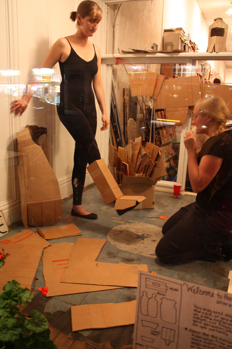 Bio Box Suit Construction