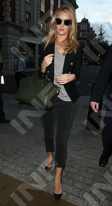 Rosie Huntington-Whiteley in the Hi-Low Tank in Grey