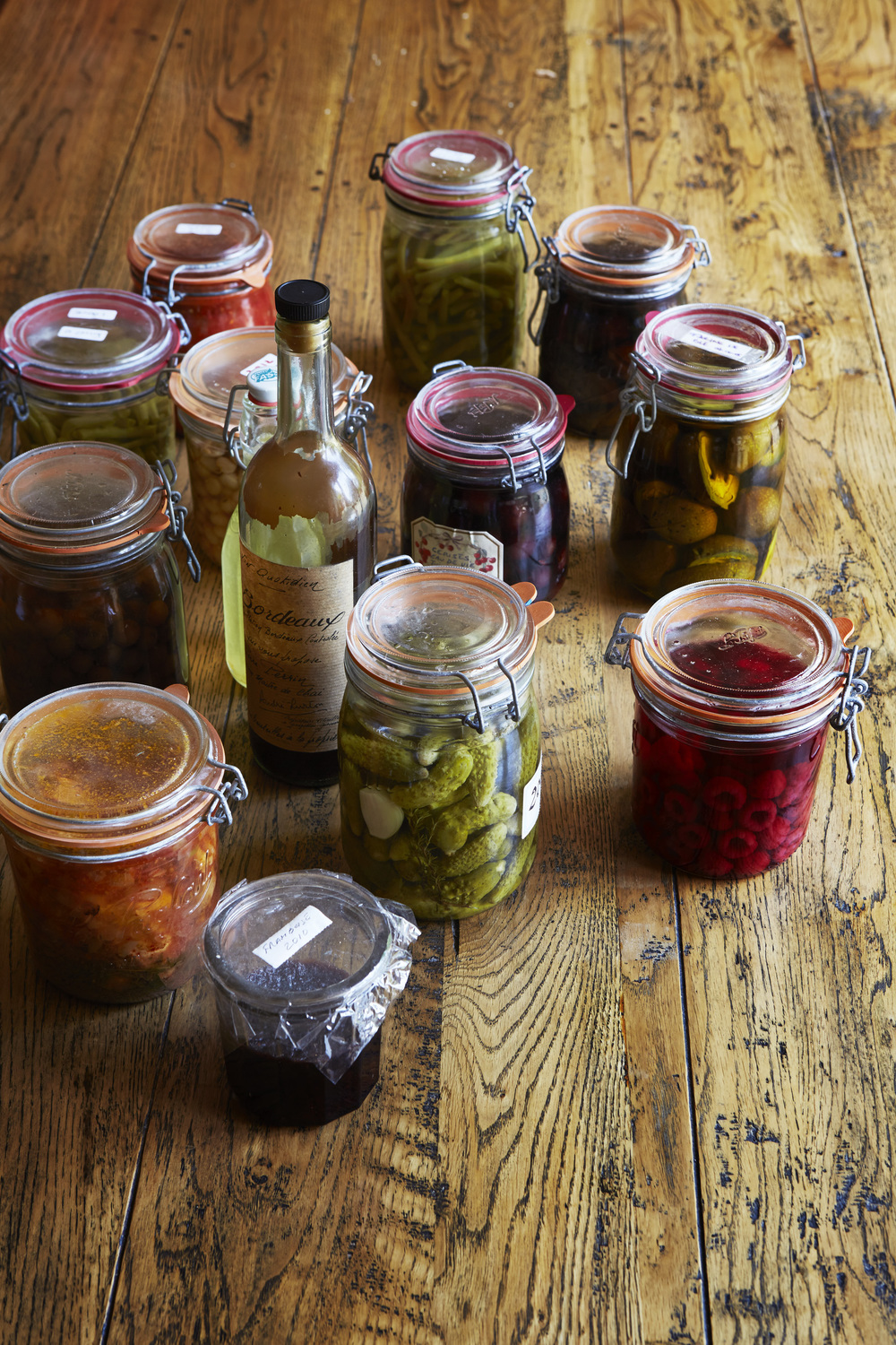 Preserves made by Jean-Pierre / Photograph © Jan Baldwin