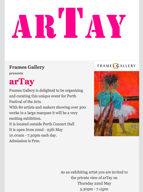 arTay private view invite