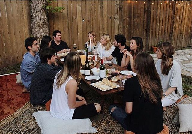 @fosteratx showing up those friendsgiving goals #mycommontable