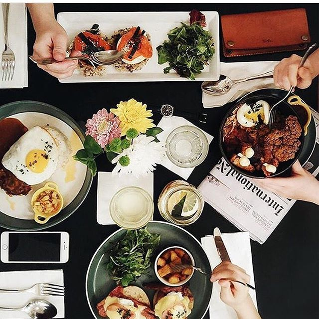 When your breakfast is lit 🔥 #mycommontable @lalisa_doniho