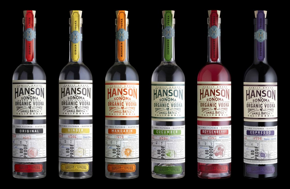 Hanson of Sonoma Vodka